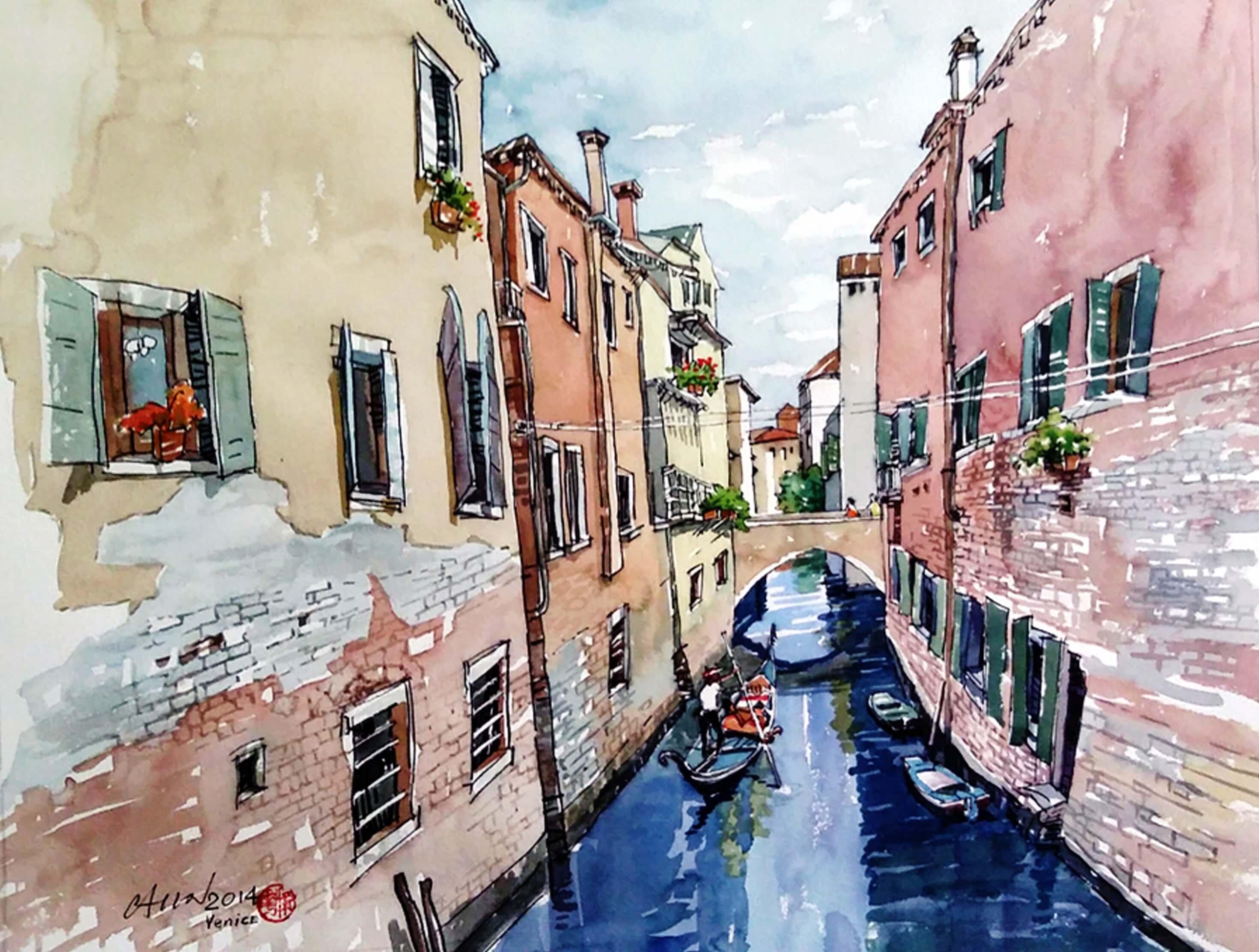 Venice – 2014 (63 cm x 48 cm)