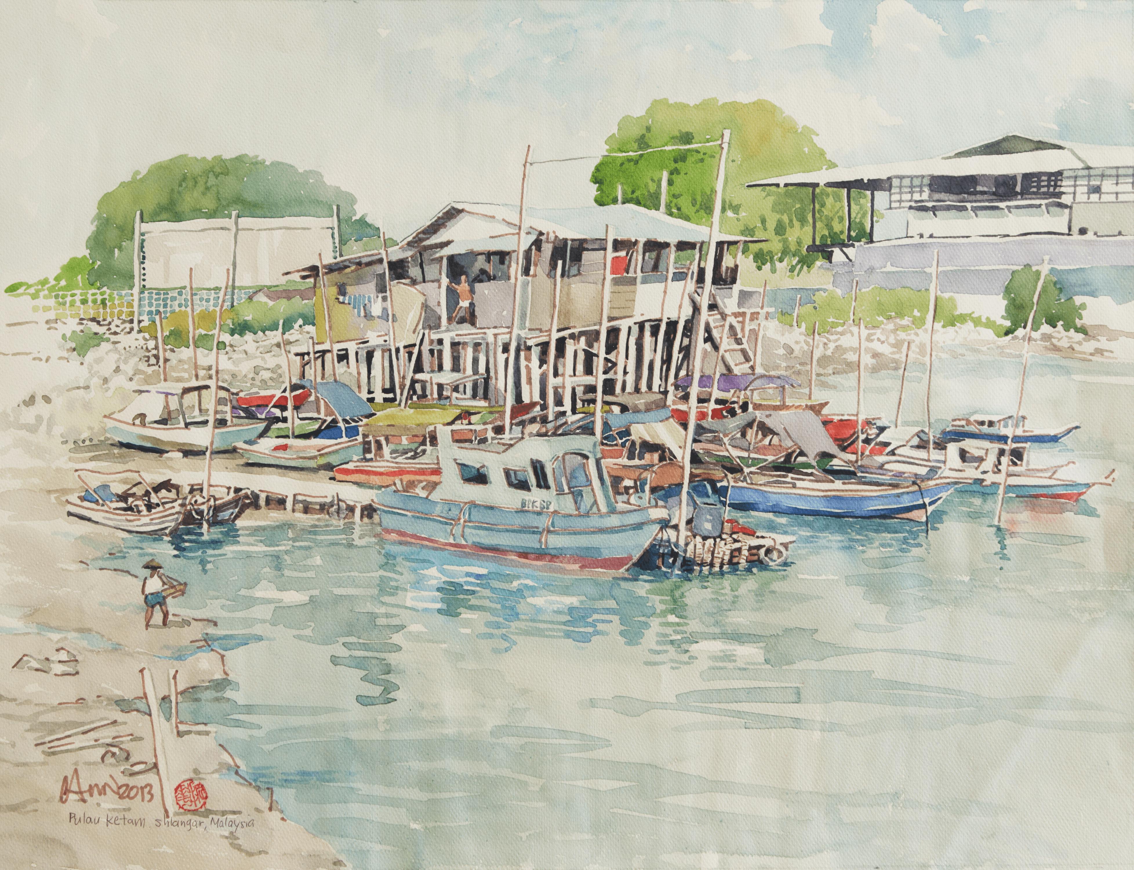 Pulau Ketam, Selangor, Malaysia – 2013 (63 cm x 48 cm)
